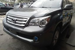 Foreign Used Lexus GX 2011 Model Gray