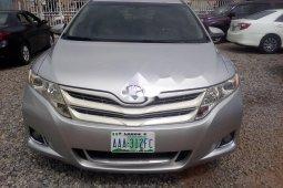 Nigeria Used Toyota Venza 2009 Model Silver