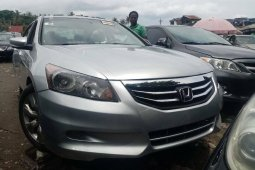 Foreign Used Honda Accord 2010 Model Silver