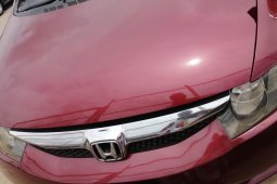 Foreign Used Honda Civic 2010 Model Red