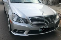 Nigeria Used Mercedes-Benz E300 2010 Model Silver