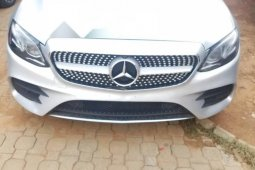 Tokunbo Mercedes-Benz E350 2017 Model Silver
