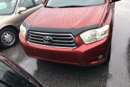 Foreign Used Toyota Highlander 2010 Model Red