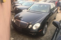 Foreign Used Mercedes-Benz E350 2008 Model Black