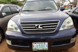 Nigeria Used Lexus GX 2006 Model Blue