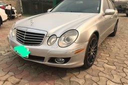 Nigeria Used Mercedes-Benz E350 2008 Model Silver
