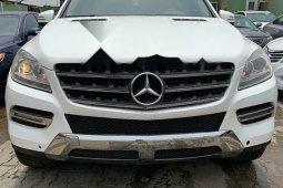 Nigeria Used Mercedes-Benz M-Class 2013 Model White