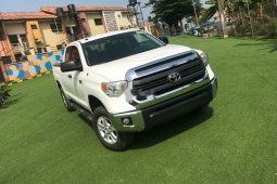 Foreign Used Toyota Tundra 2014 Model White