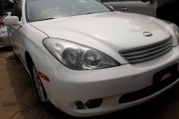 Foreign Used Lexus ES 2005 Model White