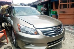 Foreign Used Honda Accord 2009 Model Gold