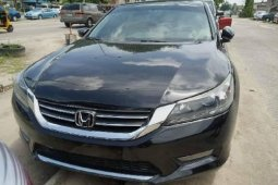 Foreign Used Honda Accord 2015 Model Black