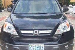 Nigeria Used Honda CR-V 2007 Model Black