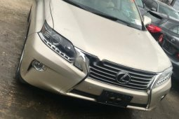 Foreign Used Lexus RX 2015 Model Silver