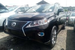 Foreign Used 2013 Black Lexus RX for sale in Lagos.
