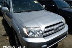 Foreign Used 2005 Silver Toyota 4-Runner for sale in Lagos.