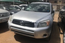 Foreign Used 2006 Silver Toyota RAV4 for sale in Lagos.
