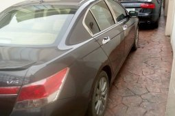 Nigeria Used Honda Accord 2011 Model Gray