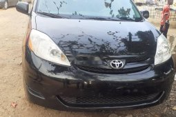 Foreign Used Toyota Sienna 2008 Model Black