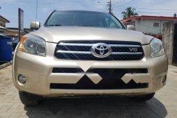 Foreign Used Toyota RAV4 2007 Model Gold