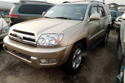 Foreign Used Toyota 4-Runner 2005 Model for sale