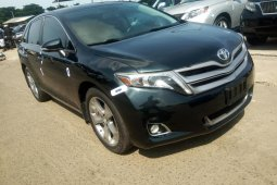 Foreign Used Toyota Venza 2014 Model Black