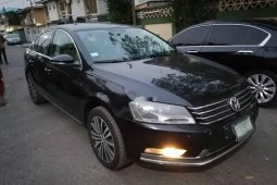 Nigeria Used Volkswagen Passat 2015 Model Black