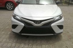 Foreign Used Toyota Camry 2019 Model White