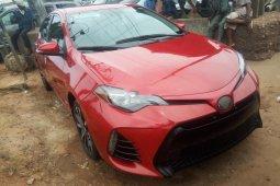 Clean Naija Used 2017 Toyota Corolla for sale