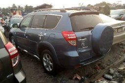 Foreign Used 2010 Grey Toyota RAV4 for sale in Lagos.