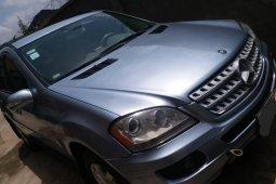 Nigeria Used Mercedes-Benz ML350 2006 Model Silver
