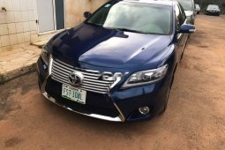 Nigeria Used Toyota Camry 2008 Model Blue
