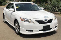 Foreign Used Toyota Camry 2007 Model White
