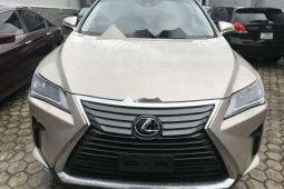 Foreign Used Lexus RX 2018 Model Silver