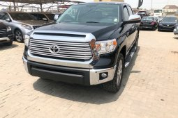 Foreign Used Toyota Tundra 2016 Model Black