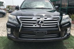 Foreign Used Lexus LX 2013 Model Black