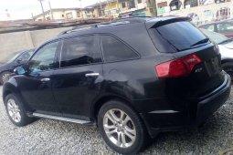 Nigeria Used Acura MDX 2008 Model Black