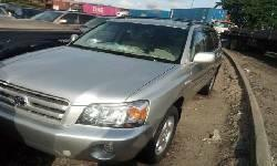 Clean Foreign Used Toyota Highlander 2006 Model up for sale