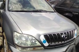 Foreign Used Lexus RX 2003 Model Silver