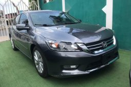 Foreign Used Honda Accord 2013 Model Gray