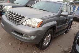 Foreign Used Lexus GX 2006 Model Gray