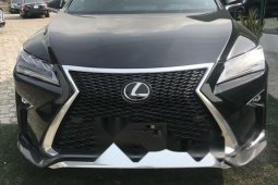 Foreign Used Lexus RX 2019 Model Black