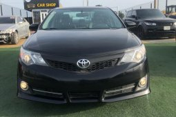 Foreign Used Toyota Camry 2014 Model Black