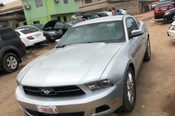 Foreign Used Ford Mustang 2012 Model Silver