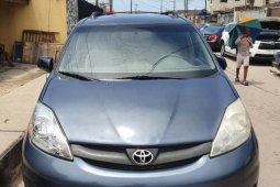 Nigeria Used Toyota Sienna 2006 Model Gray