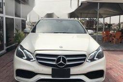 Nigeria Used Mercedes-Benz E350 2016 Model White
