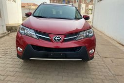 Foreign Used Toyota RAV4 2014 Model Red