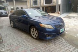 Nigeria Used Toyota Camry 2011 Model Blue