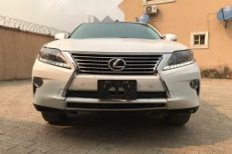 Foreign Used Lexus RX 2014 Model White