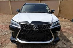 Foreign Used Lexus LX 2019 Model Black
