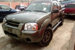 Foreign Used Nissan Frontier 2003 Model Green